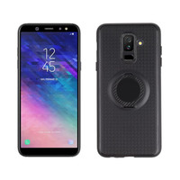 Softcase Magnetic Ring Soft Case Cover Casing Samsung Galaxy A6 Plus