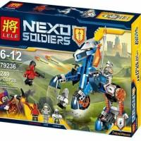 lego lele 79236 Nexo Knights 2in1 Minifigure Brick Nick Soldiers