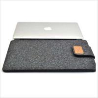 Tas Felt Button Style Sleeve Case 12 inch Laptop Macbook Ultrabook