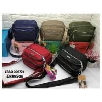 CB0372 tas selempang wanita import chibao bordir