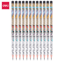 Deli EU53300 Graphite Pencil 2B / Pensil 2B isi 12 Pcs