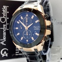 jam tangan pria Alexandre christie original AC 6224 MC