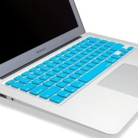 DIJUAL Candy Color Silicone Keyboard Cover Protector Skin for Macbook