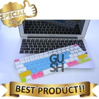Keyboard Cover Silicone Candy Color for Macbook LARISS
