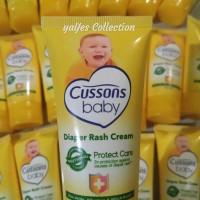 Krim popok iritasi kemerahan kulit ruam bayi diaper rash cream cussons