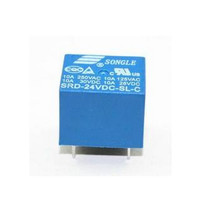 RELAY SONGLE 24V 10A SRD-24VDC-SL-C 5 pin 5p 24 Volt DC