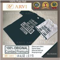 Tshirt T-shirt Baju Pria Kaos 100% Original Katun Premium LIMITED EDIT