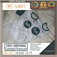 Tshirt T-shirt Baju Pria Kaos 100% Original Katun Premium Otsky Bulat