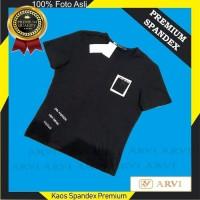 Baju Kaos Pria Spandek Spandex Premium Vogue