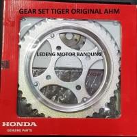 Terbaru Original Gear Set Tiger Honda Rantai Komplit GirSet Depan