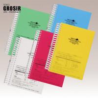 LIHIT LAB Buku Tulis Notebook A5 Refillable N-1640
