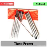 Tiang Flysheet Frame TrapTent Emergency Tenda Darurat Alumunium Alloy