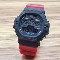 Jam Tangan Pria Casio G-Shock New Digital Red Black KW
