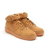 Toko Riris Nike Air Force 1 07 MID Flax Brown PK Original Perfect
