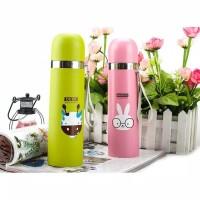 *[299gr] A68 NEW Termos ANIMAL Stainless 500Ml Tali Karakter Botol Min