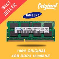 BARU RAM MEMORY SAMSUNG NOTEBOOK LAPTOP DDR3 4GB