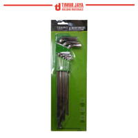 Kunci L Set Panjang ( Long ) 8Pcs TEKIRO 2-10mm
