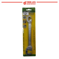 Multi function Adjustable Wrench Universal / kunci pas SELLERY 9-22MM