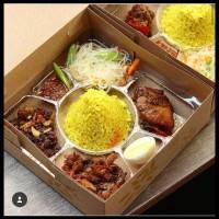 Barang Spesial Box Tumpeng Mini Sekat/Kotak Nasi Tumpeng/Mika
