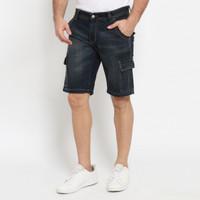 Papperdine 8837 Shorts Rusty Cargo Celana Pendek Jeans Pria