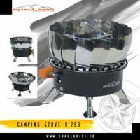 Kompor Dhaulagiri B 203 mawar kompor windproof camping stove