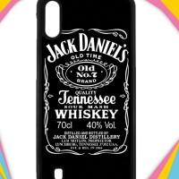 Casing Samsung Galaxy M10 Case Cover Custom Hardcase Jack Daniels I001