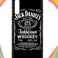 Casing Samsung Galaxy A70 Case Cover Custom Hardcase Jack Daniels I001