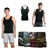 Kaos Dalam Pria Singlet Warna Sportwear