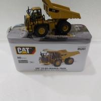 Miniatur Diecast Alat Berat OFF-Highway Truck CAT 772