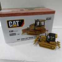Miniatur Diecast Alat Berat Track-Type Tractor CAT D5K2 LGP