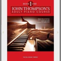 JOHN THOMPSON'S Adult Piano Course Book 1 Elementary Level