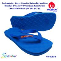Sandal Swallow Premium Spectrum Pria RoyalBlue - Tali Biru
