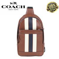 Coach Bag Shoulder Body Men Leather Brown F72226 BNIB 100% AUTHENTIC!