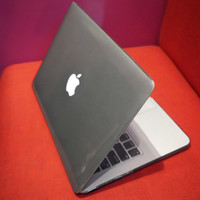 Hard Case Macbook Pro 13 Retina Display Grey Gloss (Abu2 Transparant)