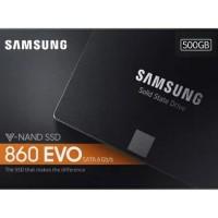 SAMSUNG SSD 860 EVO 2.5 SATA III 500GB Garansi resmi 5 tahun bySAMSUNG