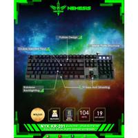 KEYBOARD GAMING NYK KR-201 NEMESIS GAME MASTER