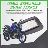 Filter Udara Ferrox Yamaha New Vixion R VVA 1 Set Ferrox Filter