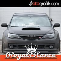 promo stiker kaca mobil sticker royal stance jdm racing