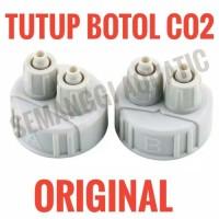 [ORIGINAL] Tutup Botol CO2 DIY / Tutup CO2 DIFFUSER / CHECK VALVE