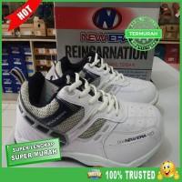 Sepatu Bulutangkis New Era Badminton 02 - Putih 39 EKSLUSIF