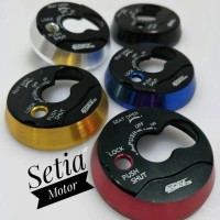 Cover - Tutup Kunci Kontak Variasi Motor Nmax - Mio - Xeon - Soul Gt -