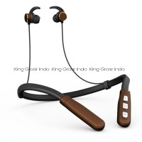 Headset Bluetooth Sport Samsung V93 Wireless NECKBAND Earphone - Putih