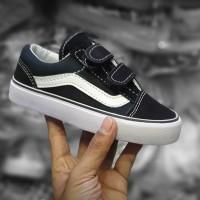 Sepatu anak Vans oldskool hitam putih Premium