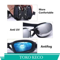 Kacamata renang Dewasa Anti Fog & Uv Protection Ruihe rh9200