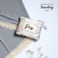 Mukena Katun Rayon Renda Travelling Pouch Bag Tas Terlaris