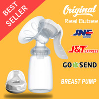 Real Bubee Pompa ASI Manual Breast Pump Powerful Nipple Suction Pumps