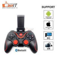 Gamepad Bluetooth Game Controller Joystick for Android With Holder