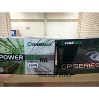 GAMEMAX PSU GP 650 - 80+ Bronze Certified Power Supply