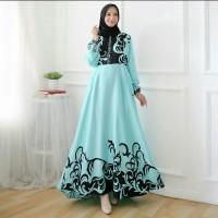 Busana Muslim Wanita Maxi Long Dress LINAWA Gamis Syari Terbaru