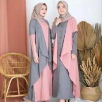 Busana Muslim Wanita Dress NESSA Gamis Terbaru Termurah